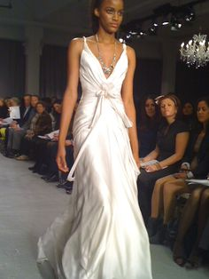 I saw a beautiful bride Dec 9, 2011, who created a Gatsby wedding wearing this  very dress.