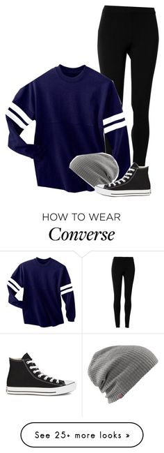 """[i'll be throwing rocks at your window]"" by kitty-queen-g on Polyvore featuring Max Studio and Converse"