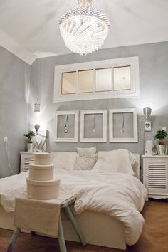 Schlafzimmer am Abend 3 Interior, House, Inspiration, Brainstorm, Furniture, Linens, Home Decor, Room Layouts, Wall Design