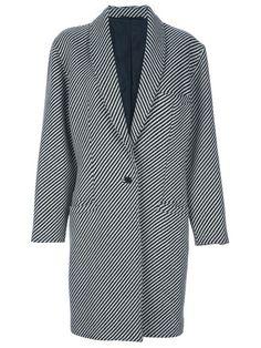 Gianni Versace Vintage striped coat