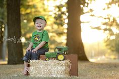 Boy 2nd Birthday! John Deere Themed party