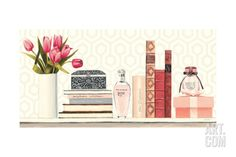 Parfum Chic I Giclee Print by Marco Fabiano at Art.com