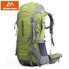 Maleroads Montanhismo escalada mochila de Alta qualidade Profissional pacote de Trekking equipamento acampamento caminhada engrenagem 50L 60L para mulheres dos homens