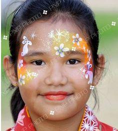 © PNP Media All Rights Reserved. Girl Face Painting, Face Painting Designs, Body Painting, Face Paintings, Paint Designs, Easter Face Paint, Mad Face, Jr Art, Girl Inspiration