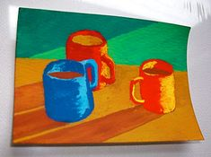 The Morning Cup of Coffee 141 ARTIST TRADING CARDS by MikeKrausArt