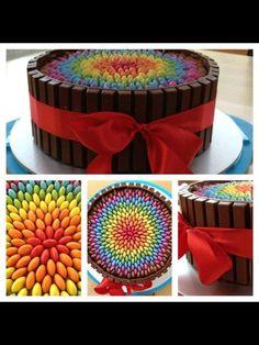 Smartie Cake