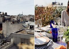 Amazing Lunch With a View Over the Parisian Rooftops