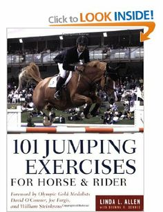 101 jumping exercises for horse and rider allen linda dennis dianna robin