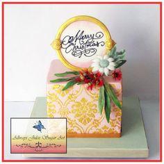 """""""Golden Aussie Christmas""""  - Cake by Allways Julez"""
