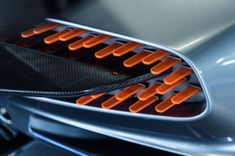 Industrial Design Trends and Inspiration - leManoosh Dean Smith, Aston Martin Vulcan, Mclaren P1, Form Design, Custom Lighting, Automotive Design, Car Lights, Car Detailing, Tail Light