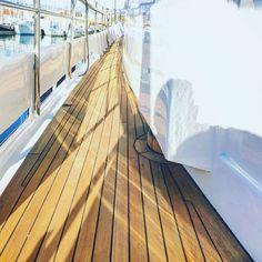 Looking forwards #palma #mallorca #refit #yachtmanagement #yachting #palmayachteye #teaktock #teakdeck #igers #igersbalears #igersmallorca #boat #barco http://Teaktock.es http://ift.tt/2hgm8a9