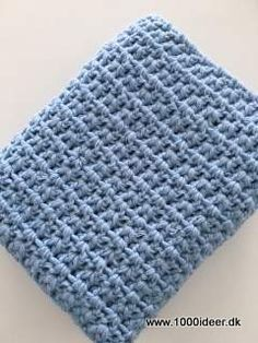 Klik for at se et større billede Free Crochet, Knit Crochet, Crochet Kitchen, Needlework, Diy And Crafts, Crochet Patterns, Crafty, Knitting, Inspiration