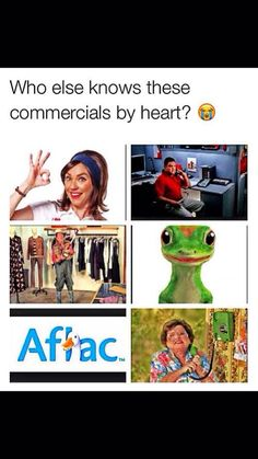 <<<NOW THATS PROGRESSIVE!!<<<This is jake from State Farm<<< OOH YOU GOTTA BE QUICKER THEN THAT!!<<< GEICO!!<<< AFLAAAAACCC!!<<<6 CALLERS AHEAD OF YOU JIMMY!!<<< I watch way to much t.v.