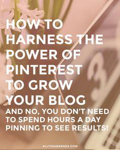 Cómo hacer Pinterest trabajo para usted sin perder horas una que fija al Día