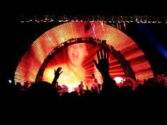 """The Flaming Lips performing """"Do You Realize?"""" at the 2011 Nelsonville Music Festival.  This was my 21st birthday."""