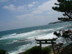 The Genkai Sea(Genkai-nada),Fukuoka Prefecture, Kyusyu, Japan