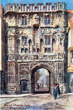 Christ Church Gate, Canterbury