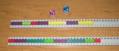 Playing with Cuisenaire Rods - Math games Teaching Numbers, Math Numbers, Teaching Math, Teaching Ideas, Fun Math, Math Games, Homeschool Math, Homeschooling, Math Boards