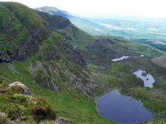 Coum Iarather & Boola Lakes from Comeragh Mountains,County Waterford,Ireland. Waterford Ireland, Magical Home, Republic Of Ireland, Northern Ireland, Water Sports, Bushcraft, Survival, Environment, Hiking