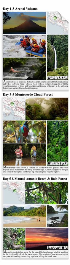 Arenal, Monteverde & Manuel Antonio - Costa Rica Itinerary - Paradise Discovered