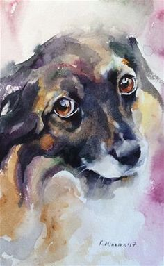 "Daily Paintworks - ""adopt239"" - Original Fine Art for Sale - © Katya Minkina"