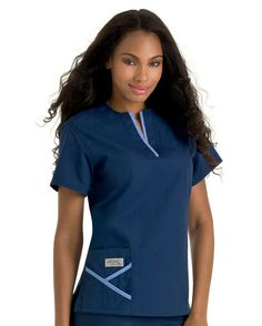Great scrub top for big busts