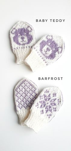 Baby mittens Patterns Barfrost and Baby Teddy, both baby mitten patterns on Ravelry Ravelry: U-Pick Mitts pattern by Emma KerianDROPS Nepal - Das perfekte Alltagsg. Baby Mittens Knitting Pattern, Knitting Patterns Free, Crochet Pattern, Knitting Tutorials, Hat Patterns, Loom Knitting, Free Knitting, Stitch Patterns, Vintage Thrift Stores