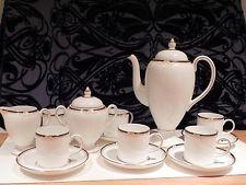 Wedgewood,Cavendish design 6piece blue & gold coffee set