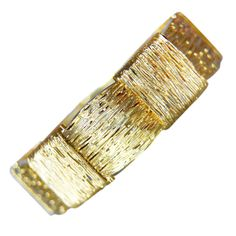 Cartier Gold Bracelet | From a unique collection of vintage more bracelets at…