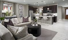 This Laveen, AZ, home boasts an open, inviting layout   Amethyst plan   Seasons Collection by Richmond American