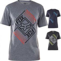 Fox Left Hemisphere Short Sleeve Tops Crewneck Motocross Mens Tech T-Shirt