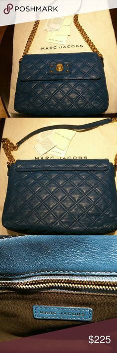 Marc Jacobs Large The Single Quilted shoulder bag I'm selling my Marc Jacobs The Single in large. It's in great, barely used condition. No rips or tears. Comes with dustbag and tags as pictured. Marc Jacobs Bags Shoulder Bags