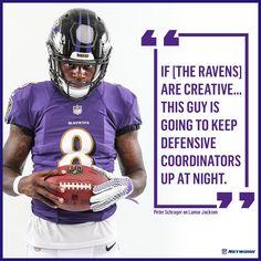 Ravens rookie Quarterback Lamar Jackson. Nfl Network 5544fa0bd