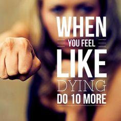 50 Inspiring Fitness Motivation Posters - fitspiration, training motivation, workout inspiration.