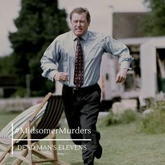 John Nettles as DCI Tom Barnaby in 'Midsomer Murders'.