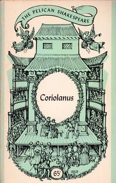 Do you know how long it took me to find a book picture of this to say that I've read it? I kept coming up with pictures of the Donmar Warehouse version... Anyways, I present to you Coriolanus by William Shakespeare. I can now move on to other books.