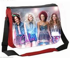 LARGE PERSONALISED SCHOOL / COLLEGE MESSENGER BAG - GREAT FOR XMAS (LITTLE MIX)   eBay