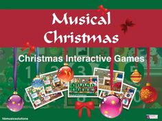 Musical Christmas is a bright and engaging collection of 10 interactive activities. It includes snowmen matching pairs, drag and drop, unwrap the presents . Interactive Activities, Game 3, Music Games, Teaching Resources, Snowman, Christmas Bulbs, Musicals, Presents, Seasons