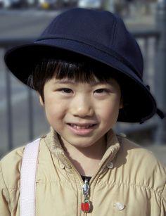 Cute Japanese child