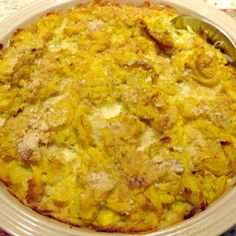 Slap Your Mama It's So Delicious Southern Squash Casserole. This one is awesome! I added some pepperjack cheese to it and added parmesan cheese to the crushed ritz crackers. Try with butternut or acorn squash? Southern Squash Casserole, Summer Squash Casserole, Squash Cassarole, Zucchini Squash Casserole, Yellow Squash Casserole, Zucchini Lasagna, Side Dish Recipes, Vegetable Recipes, Easy Recipes