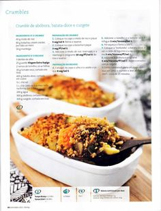 Revista bimby pt-s02-0012 - novembro 2011 Vegetarian Recipes, Healthy Recipes, Kitchen Time, Happy Foods, Food Inspiration, Easy Meals, Paleo, Food And Drink, Cooking