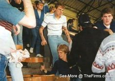 The Firms internet archive of retro football hooligan pictures, below are photos with Tags of 'Portsmouth'. Retro Football, Football Fans, Football Casuals, Portsmouth, Photo Archive, Great Britain, Old School, Soccer, Mens Fashion