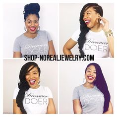 """Recently my dreams have been shifting. All I ever wanted in life  was to be a famous actress that got to work with the likes of Denzel Meryl  nem. Now my dreams are shifting and I want nothing more than this little brand of mine to help folks overcome their fears and pursue their God-given passions.  So I'd like to introduce you """"The Dreamer  Doer Collection"""" A catalog of lifestyle products (T-Shirts Prints Stationary  Mugs)  for those that aren't afraid of dreaming big or doing the work. My…"""