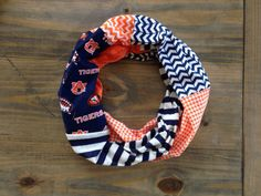 Auburn Tigers Infinity Scarf by KutKloth on Etsy, $14.00