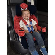 KidsEmbrace Deluxe Harnessed Booster Car Seat
