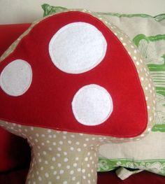 Mushroom pillow....idea to make