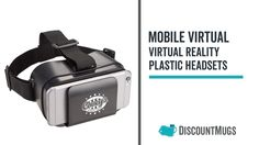 Personalized Mobile Virtual Reality Plastic Headsets Virtual Reality, Plastic, Vr, Unique, Products