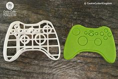 Xbox Video Game Controller Cookie Cutter, 3D Printed