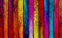 Multicolor Wood Textures Rainbows Planks Wood Panels Colors
