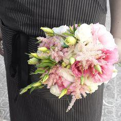 TUNDRA - Amaia. Bouquets. ramo de novia. wedding. romantic. romantico. astilbe. lisianthus.